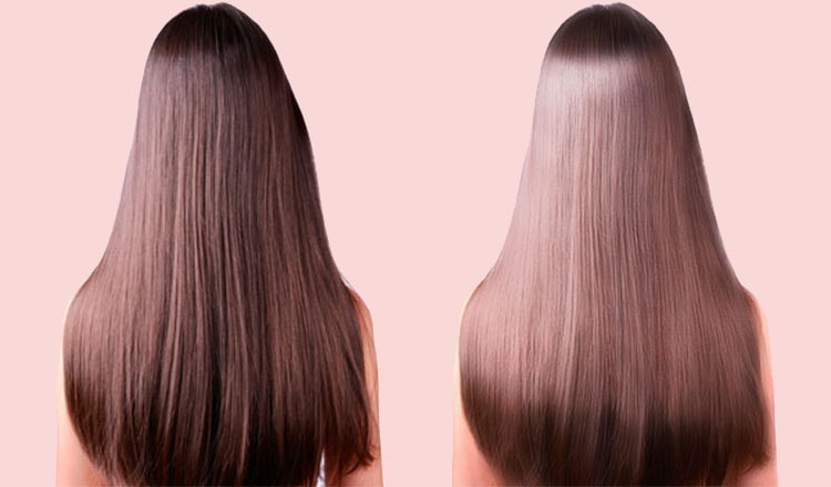 Healthy and Shiny hair comes with intake of nutrient foods.